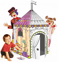 Kartonhaus zum Bemalen Zirkus