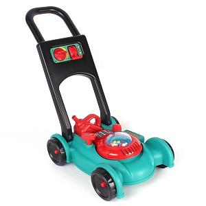 Benzin Rasenmäher mit Laufgeräusch und weiteren Funktionen für Kinder