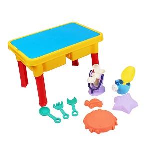 Sand und Wasserspieltisch mit Zubehör