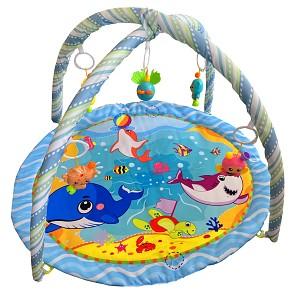 2 in 1 Activitycenter Baby-Spielbogen - Ozean