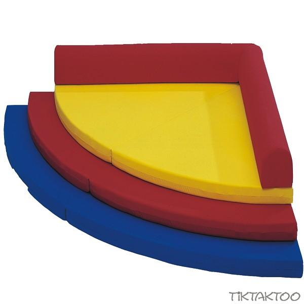 spiel und schlafecke 5 tlg matratze liege kuschelecke ebay. Black Bedroom Furniture Sets. Home Design Ideas