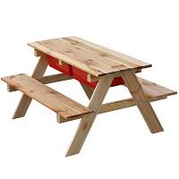 Sand-und-Wasserspieltisch-Matschtisch-Spieltisch-Picknickbank-Picknicktisch