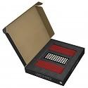 GEOMAG Masterbox ROT 248 Teile Magnetbaukasten Magnetspielzeug Konstruktion Bulkse