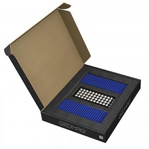 GEOMAG Masterbox BLAU 248 Teile Magnetbaukasten Magnetspielzeug Konstruktion Bulks