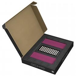 GEOMAG Masterbox FUCHSIA 248 Teile Magnetbaukasten Magnetspielzeug Konstruktion Bu
