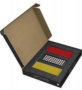 GEOMAG Masterbox ROT/GELB 248 Teile Magnetbaukasten Magnetspielzeug Konstruktion B