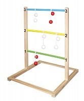 Leitergolf Outdoor Spielzeug Holz Bolas Geschicklichkeitsspielzeug