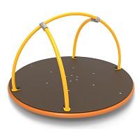 Karussell für öffentliche Spielplätze Robust und witterungsbeständig EN1176