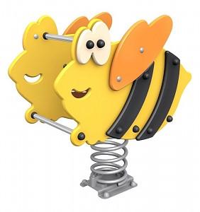 Federwipptier Federwippe Wippe für 1 Kind Hummel DIN EN1176