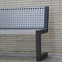 City Parkbank für den öffentlichen Bereich - Langlebig und witterungsbeständig
