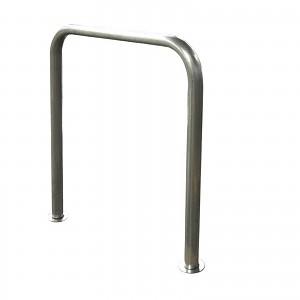 Bodenparker-Fahrradständer aus galvanisiertem Stahl für privaten oder öffentlichen Einsatz