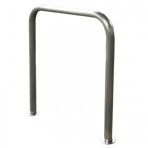 Bodenparker-Fahrradständer INOX Edelstahl für privaten oder öffentlichen Einsatz