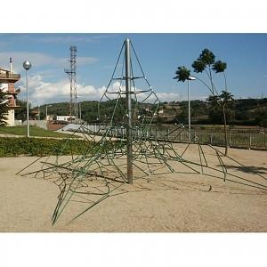 Spinnen-Kletternetz 4m Masthoehe