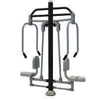 PLUS Fitness Element Plus - Chest press schwarz