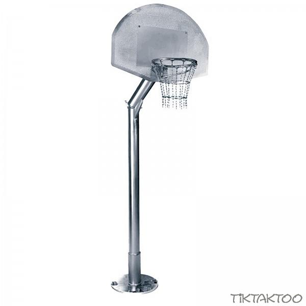 Basketballanlage Komplett Stnder Mit Baketballkorb Fr