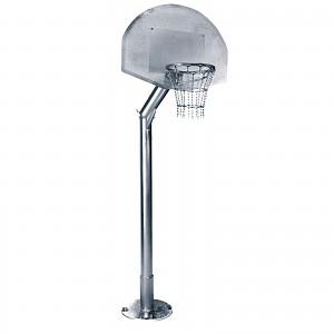 Basketballanlage komplett Ständer mit Baketballkorb für öffentlichen Spielplätze oder Trimm-Dich-Pfade