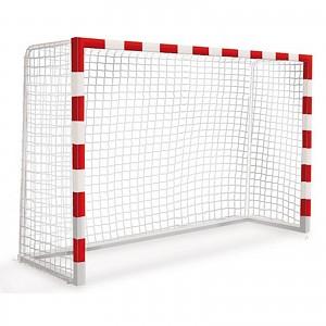 kleines mobiles Tor Fußball oder Handball-Tor für öffentlichen Spielplätze oder Bereiche