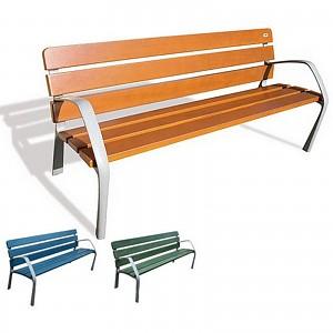 Parkbank NeoBarcino für öffentlichen Spielplätze oder Trimm-Dich-Pfade, Städte und Gemeinden