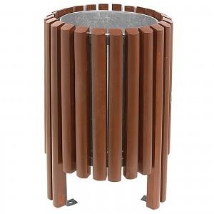 Abfallbehälter Mülleimer Salou 40 L im eleganten modernen Design für öffentliche Plätze