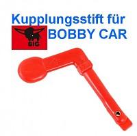 BIG Kupplungsstift für Bobbycar rot Classic oder New Bobby Car
