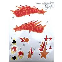 BIG - Bobby-Car Classic Stickers Limited Sondermodell 2017 Aufkleber Aufklebersatz Sticker