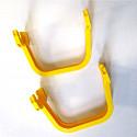 BIG Waterplay 2-er Pack gelbe Verbindungen ohne Dichtungen