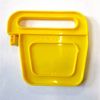 BIG Waterplay Schleusentor klein mit Nase gelb