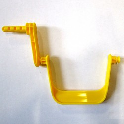 BIG Waterplay gelbes Wasserrad Paddel Kurbel groß Wasserkurbel