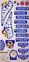 BIG - Bobby-Car Classic Stickers Classic Polzei Aufkleber Aufklebersatz