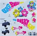 BIG - Bobby-Car Classic Stickers Classic Girlie Aufkleber Aufklebersatz