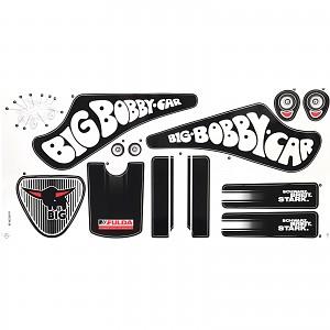 BIG - Classic Fulda Bobby Car Aufkleber Sticker Aufklebersatz Bobbycar 2017