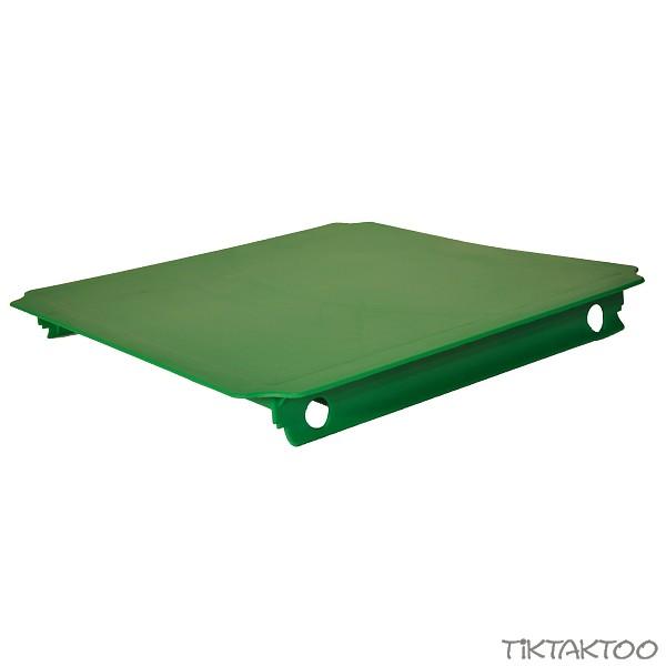 moveandstic platte 40x40 cm gr n tiktaktoo. Black Bedroom Furniture Sets. Home Design Ideas
