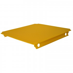 Moveandstic Platte 40x40 cm, gelb