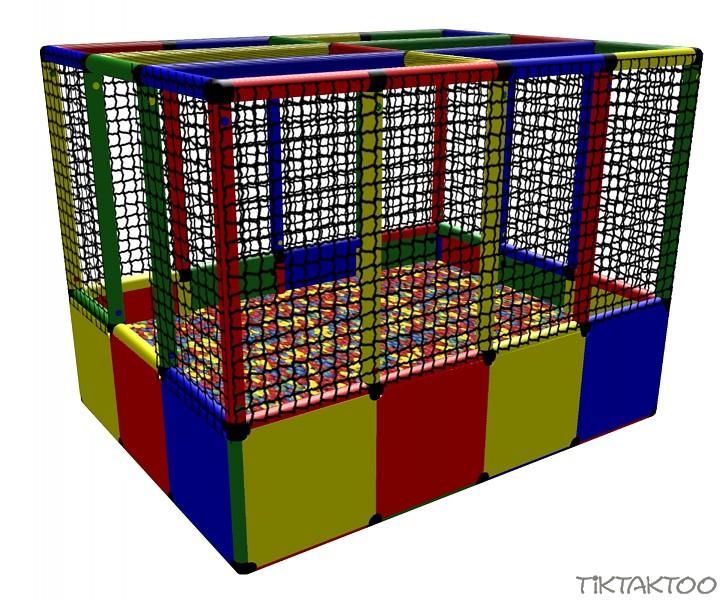 Moveandstic Bällebad BALLCENTER Bälle Ball Spielturm