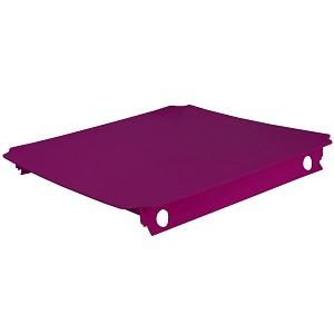 Moveandstic Platte 40x40 cm, magenta / brombeerfarben