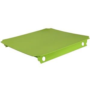 Moveandstic Platte 40x40 cm, apfelgrün - grün