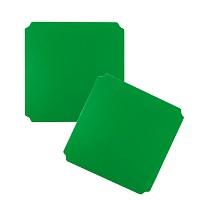Moveandstic 2er Set Platte 40 x 40 cm, grün
