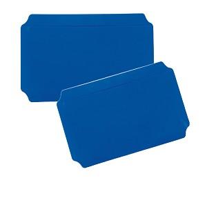 Moveandstic 2er Set Platte 20 x 40 cm, blau