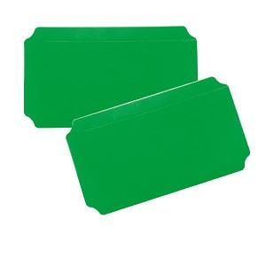 Moveandstic 2er Set Platte 20 x 40 cm, grün