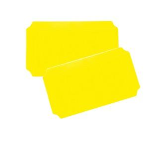 Moveandstic 2er Set Platte 20 x 40 cm, gelb