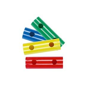 Moveandstic 4er Set Rohr 15 cm, grün, blau, gelb, rot