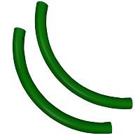 Moveandstic 2er Set Rohrbogen grün