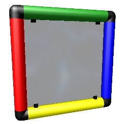 Moveandstic Plexiglasplatte 35x35cm