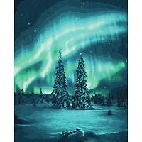 Schipper Malen nach Zahlen Polarlichter 40x50cm