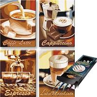 Schipper Malen nach Zahlen Kaffeepause inkl. Pinselset SET