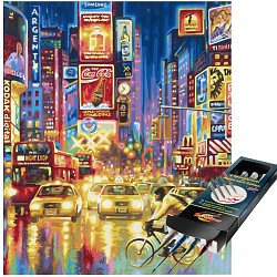 Malen nach Zahlen The New York Times Square inkl. Pinselset SET