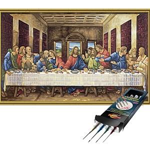 Malen nach Zahlen Das letzte Abendmahl inkl. Pinselset