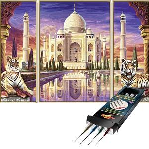 Malen nach Zahlen Taj Mahal denkmal inkl. Pinselset