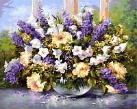 Malen nach Zahlen - Sommerblumen 40x50 cm