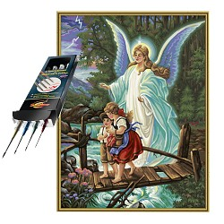 paint by numbers guardian angel incl. brush